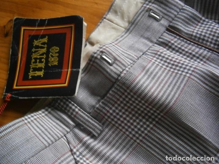 Vintage: pantalon de los años 70 80 nuevo de un viejo almacen ,unico,en tc,casa tena t 42 - Foto 8 - 235057210