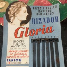 Vintage: RIZADOR PATENTADO GLORIA, AÑOS 50. Lote 235061655