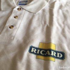 Vintage: POLO RICARD BLANCO AÑOS 80 TALLA XL. Lote 235171655