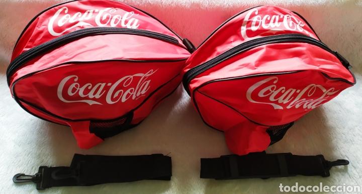 Vintage: Bolsas publicidad COCA COLA. Lote completo. - Foto 2 - 236501125