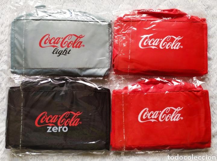 Vintage: Bolsas publicidad COCA COLA. Lote completo. - Foto 4 - 236501125