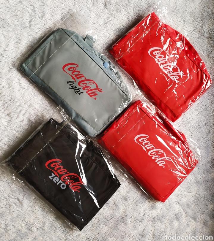 Vintage: Bolsas publicidad COCA COLA. Lote completo. - Foto 5 - 236501125