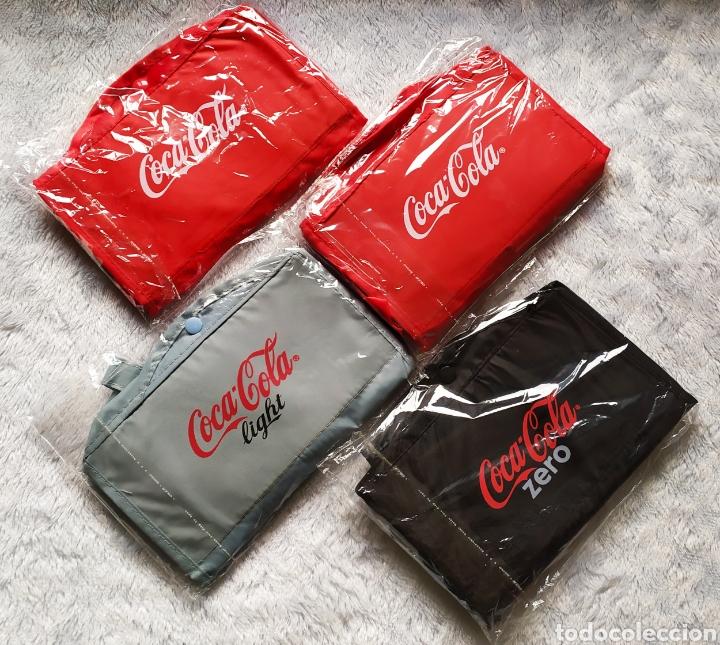 Vintage: Bolsas publicidad COCA COLA. Lote completo. - Foto 6 - 236501125