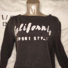 Vintage: SUDADERA NEGRA CALIFORNIA SPORT ZARA TALLA L. Lote 236519540