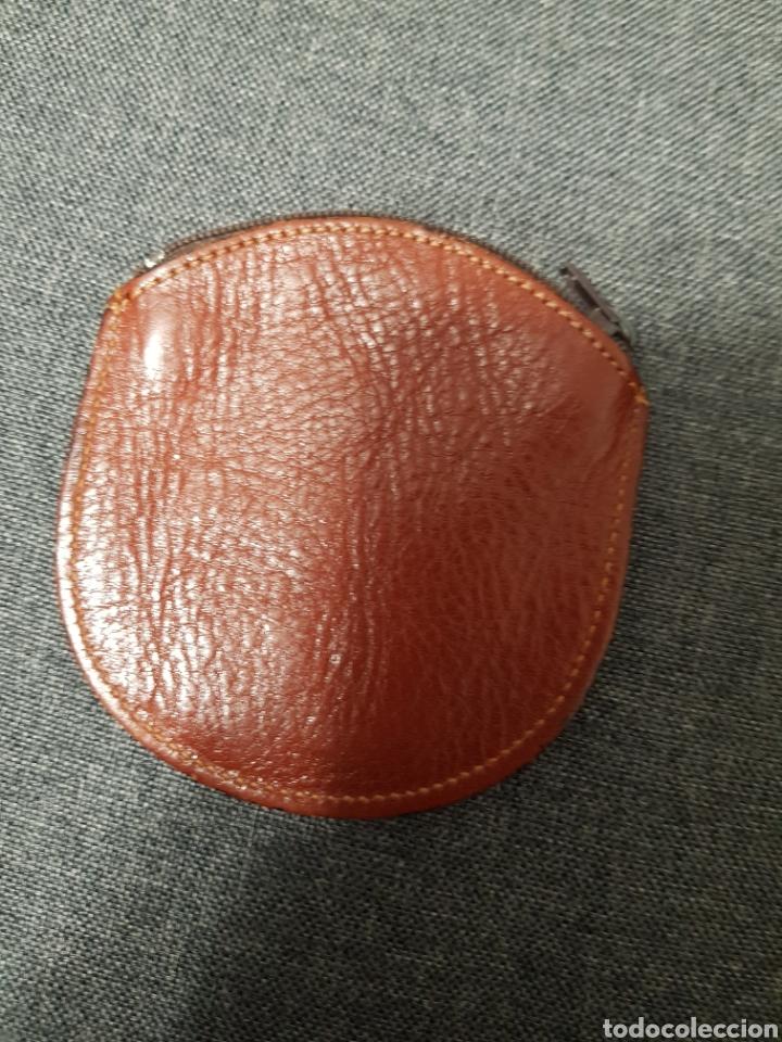 Vintage: Monedero de piel - Foto 2 - 236655870