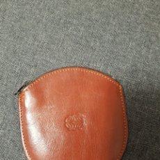 Vintage: MONEDERO DE PIEL. Lote 236655870