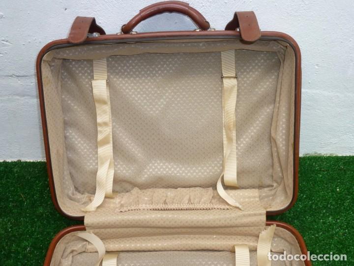 Vintage: Maleta Vintage De 51 x 37 x 17 Cm. - Foto 5 - 238426015