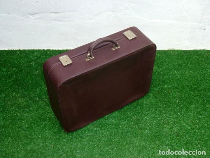 Vintage: Maleta Vintage Fabricada En francia De 49 x 36 x 15 Cm. - Foto 2 - 238426385