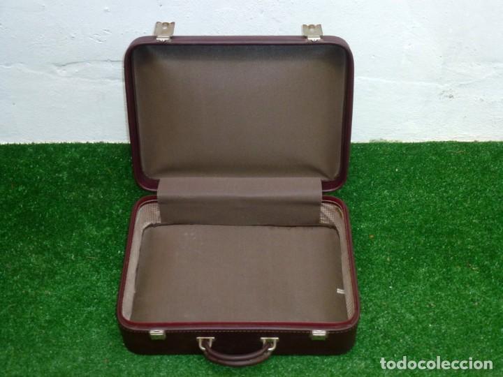 Vintage: Maleta Vintage Fabricada En francia De 49 x 36 x 15 Cm. - Foto 3 - 238426385
