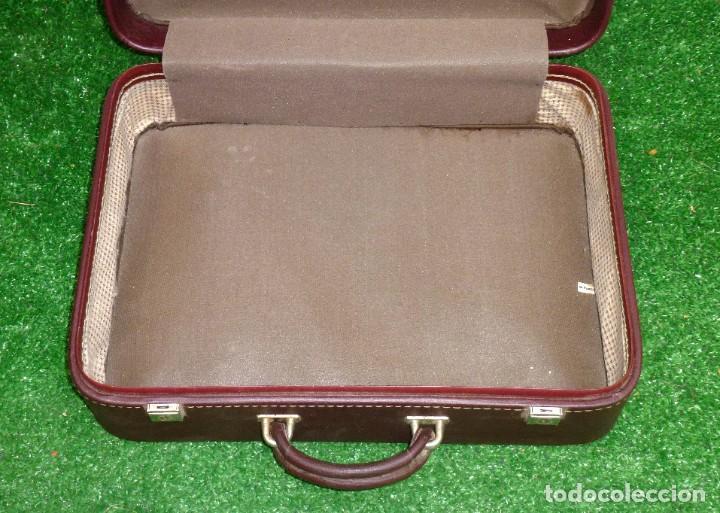 Vintage: Maleta Vintage Fabricada En francia De 49 x 36 x 15 Cm. - Foto 4 - 238426385