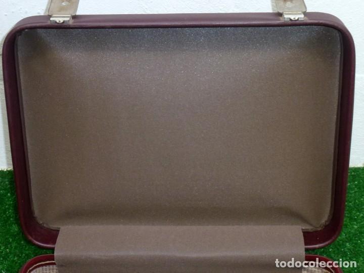 Vintage: Maleta Vintage Fabricada En francia De 49 x 36 x 15 Cm. - Foto 6 - 238426385