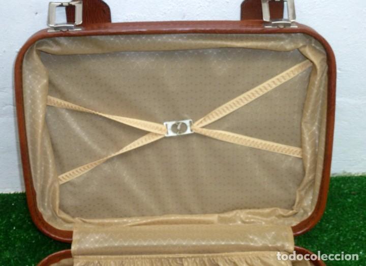 Vintage: Maleta Vintage De 50 x 38 x 17 Cm. - Foto 5 - 238426620