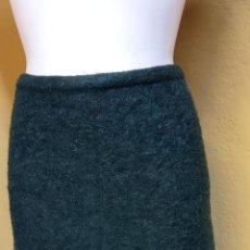 Vintage: BONITA FALDA DE MUJER. TALLA XL. COLOR VERDE.. Lote 241865945
