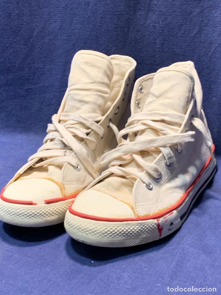 Vintage: zapatillas loneta john smith basquet originales heavy cushion - Foto 2 - 243815310