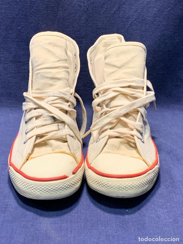 Vintage: zapatillas loneta john smith basquet originales heavy cushion - Foto 3 - 243815310