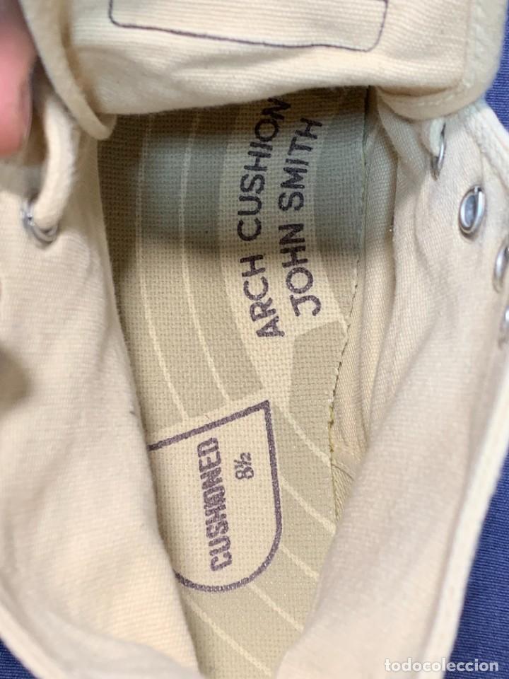 Vintage: zapatillas loneta john smith basquet originales heavy cushion - Foto 4 - 243815310