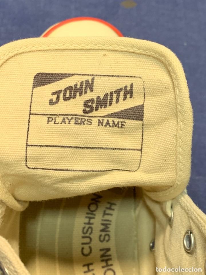 Vintage: zapatillas loneta john smith basquet originales heavy cushion - Foto 5 - 243815310