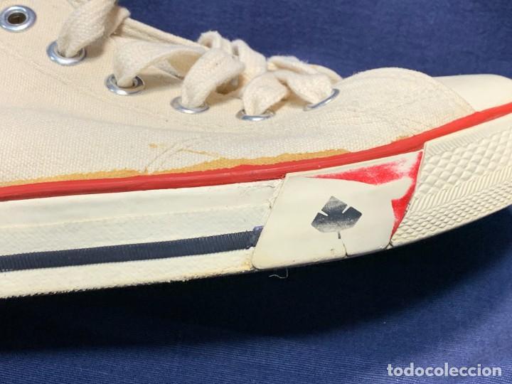 Vintage: zapatillas loneta john smith basquet originales heavy cushion - Foto 9 - 243815310