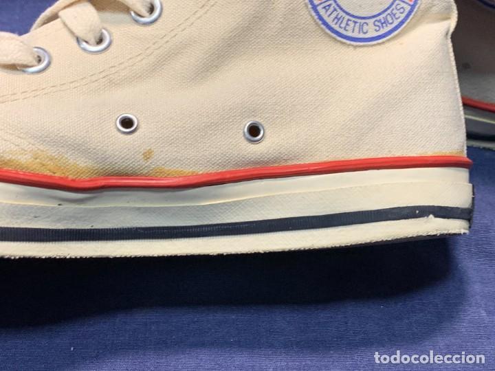 Vintage: zapatillas loneta john smith basquet originales heavy cushion - Foto 12 - 243815310