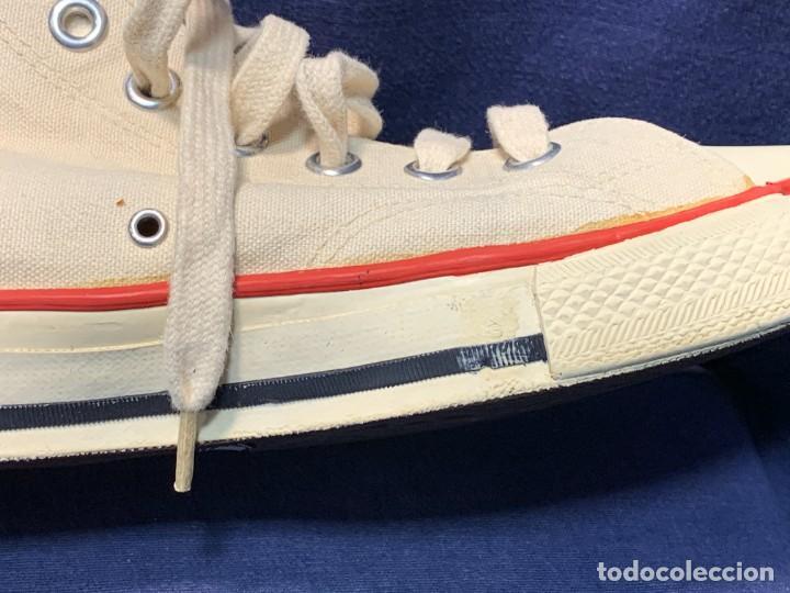 Vintage: zapatillas loneta john smith basquet originales heavy cushion - Foto 13 - 243815310