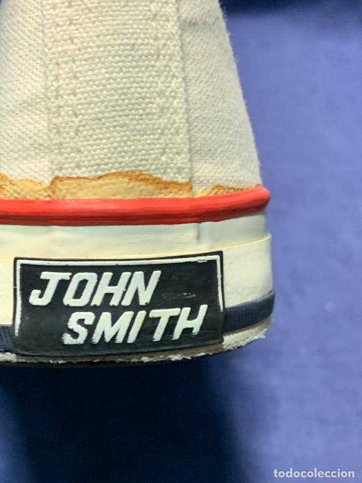 Vintage: zapatillas loneta john smith basquet originales heavy cushion - Foto 14 - 243815310