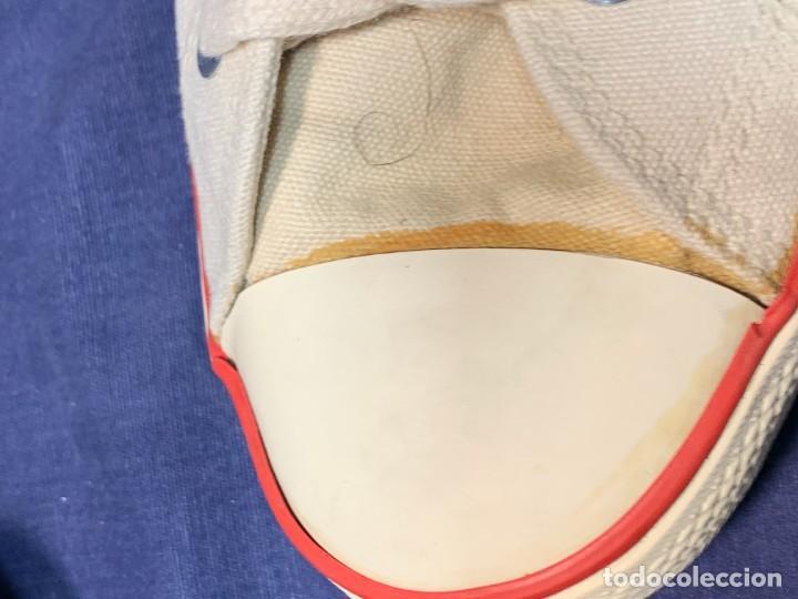 Vintage: zapatillas loneta john smith basquet originales heavy cushion - Foto 15 - 243815310