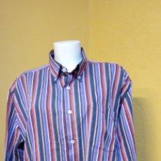 Vintage: CAMISA PARA HOMBRE. TALLA XL. COLOR VERDE/MORADO. FORE IGNER.. Lote 244479900