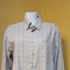 Vintage: CAMISA PARA HOMBRE. TALLA XL. COLOR BEIGE/ MARRON. VENETO.. Lote 244480245
