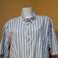 Vintage: CAMISA PARA HOMBRE. TALLA XL. COLOR BLANCO/MARRON. KENT'S.. Lote 244481355