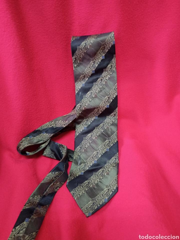 Vintage: Original corbata de seda,mide de ancho 9 cms - Foto 2 - 244491855