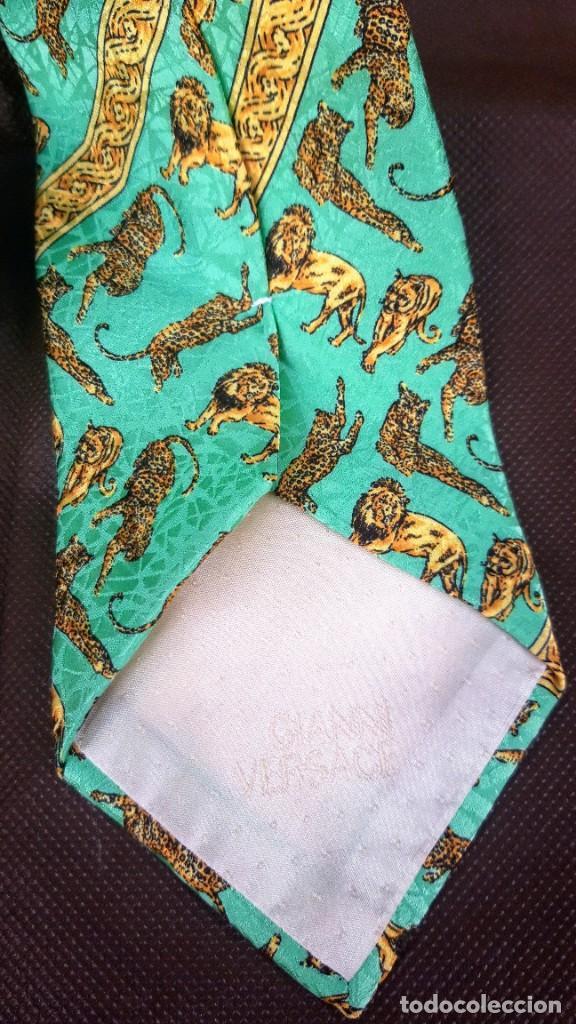 Vintage: Corbata de Gianni Versace. - Foto 2 - 244750065
