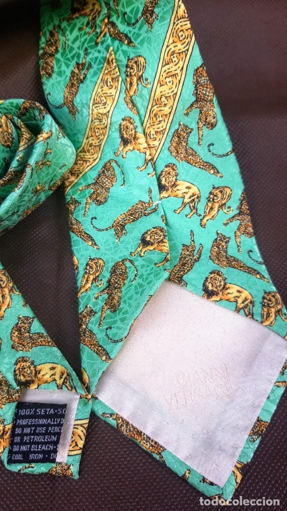Vintage: Corbata de Gianni Versace. - Foto 4 - 244750065