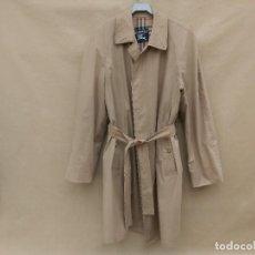 Vintage: GABARDINA UNISEX BURBERRY DE TEJIDO LIGERO BEIGE. Lote 245073215