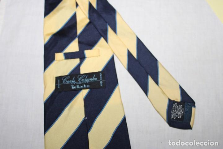 Vintage: Corbata seda Carlo Colombo (S77) - Foto 2 - 245729285