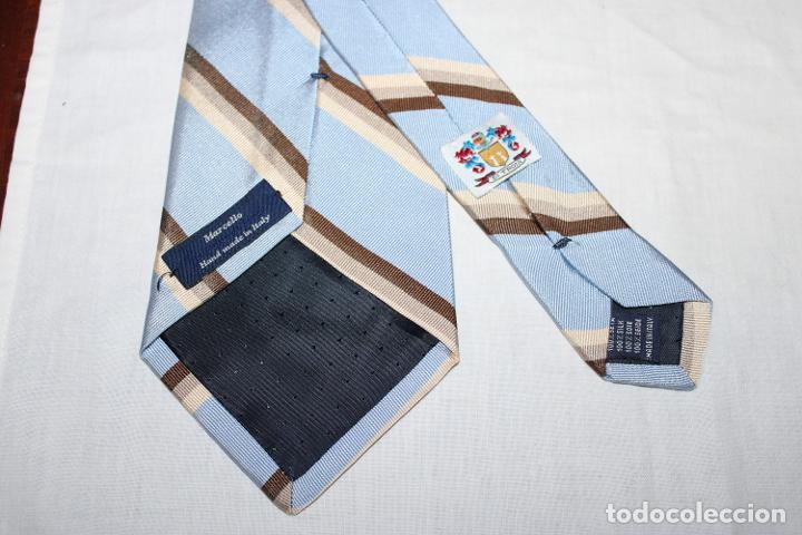 Vintage: Corbata seda Marcello Italy (S81) - Foto 2 - 245729430