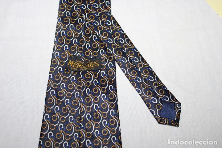 Vintage: Corbata seda Mercedes (S76) - Foto 2 - 245729660