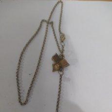 Vintage: EXCELENTE COLLAR DE RESINA ANTIGUA DE DISEÑO ART DECO.. Lote 245735200