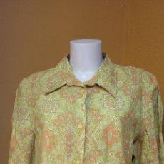 Vintage: BONITA BLUSA DE MUJER. TALLA XL. COLOR VERDE. DANIEL.. Lote 245778970