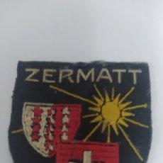 Vintage: DISTINTIVO ZERMATT PARA CAMISA O CHAQUETA VINTAGE. Lote 246021085