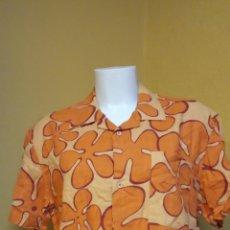 Vintage: BONITA BLUSA DE MUJER NARANJA. TALLA L. DESIGUAL.. Lote 246422010
