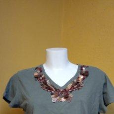 Vintage: BONITA BLUSA DE MUJER. COLOR VERDE. TALLA M. BLAY PUNT.. Lote 246422640