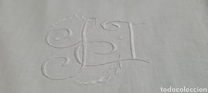 Vintage: Preciosa sabana individual con funda de almohada a juego - Foto 4 - 246637575