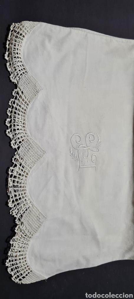 Vintage: Preciosa sabana individual con funda de almohada a juego - Foto 7 - 246637575