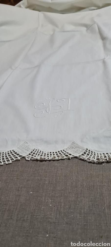 Vintage: Preciosa sabana individual con funda de almohada a juego - Foto 2 - 246637575