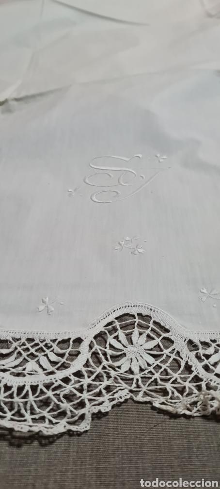 Vintage: Preciosa sabana individual con funda de almohada a juego - Foto 2 - 246641950