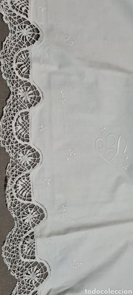Vintage: Preciosa sabana individual con funda de almohada a juego - Foto 3 - 246641950