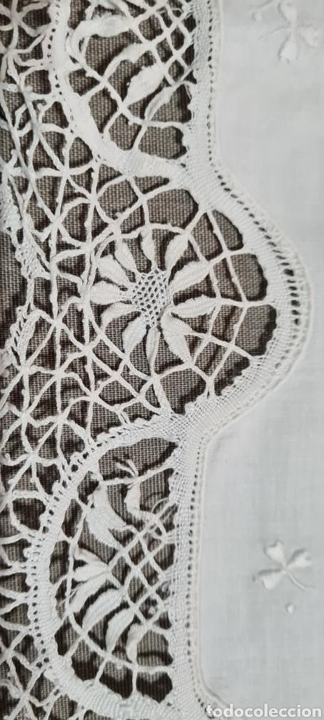 Vintage: Preciosa sabana individual con funda de almohada a juego - Foto 4 - 246641950