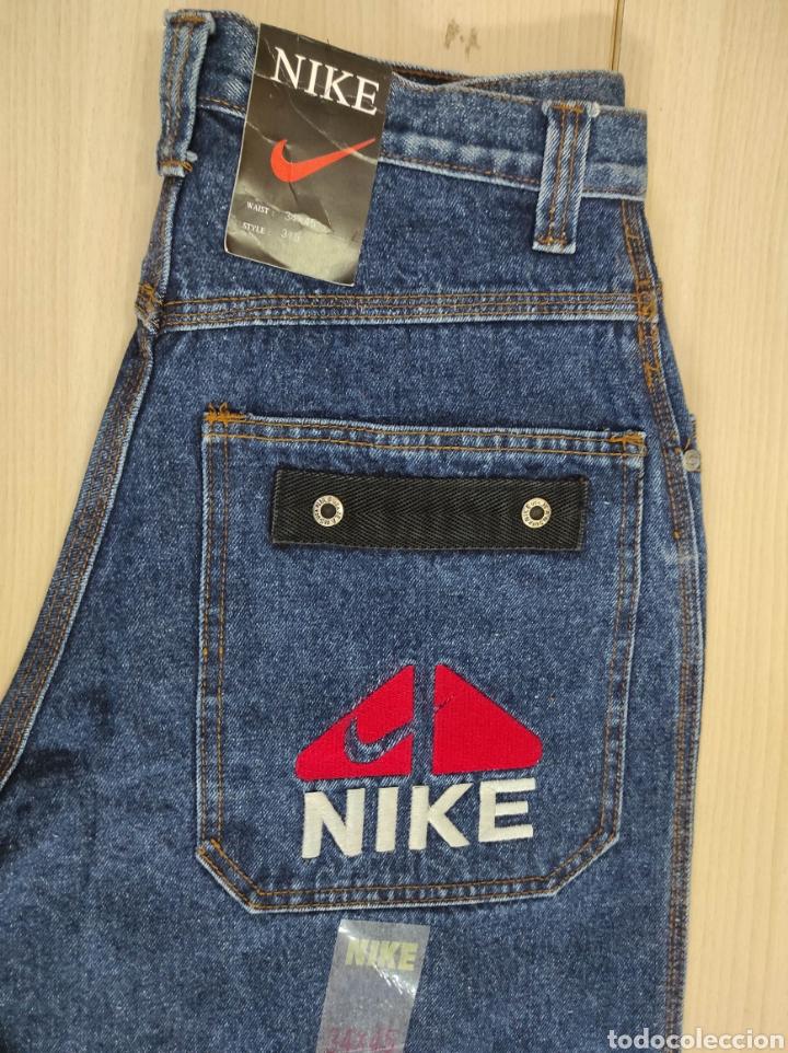 Vintage: Pantalones Vaqueros NIKE sin uso años noventa vintage - Foto 2 - 247501560