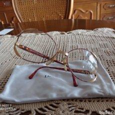Vintage: GAFAS CHRISTIAN DIOR ORIGINALES DE ÉPOCA AÑOS 90 DE ÓPTICA. Lote 247946180