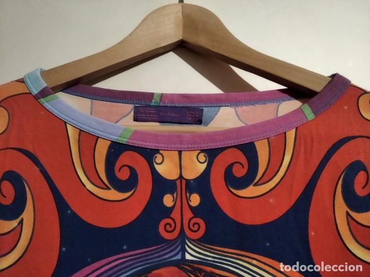Vintage: Camiseta Zara TRF talla M lycra - Foto 2 - 248508985